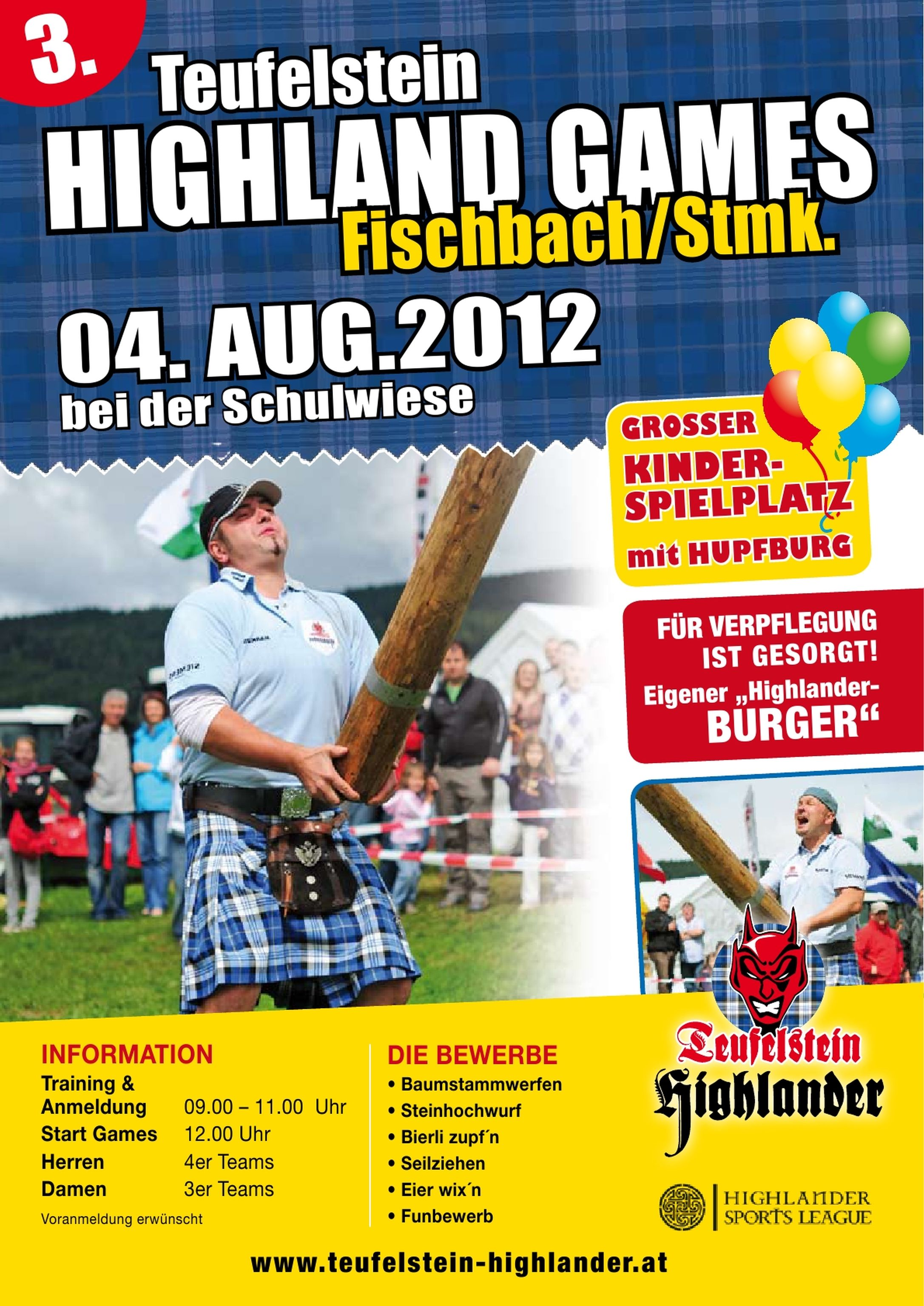 3. Highlandgames am 04.08.2012